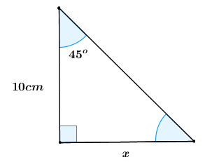 how to solve trig triangles in word problems